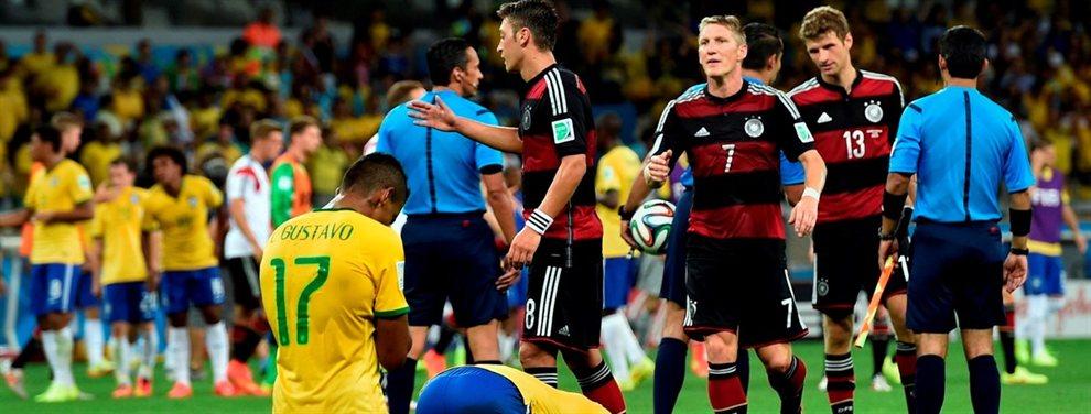 La última ocasión en la que Brasil disputó una semifinal en el estadio Mineirao perdió por 7-1 con Alemania.