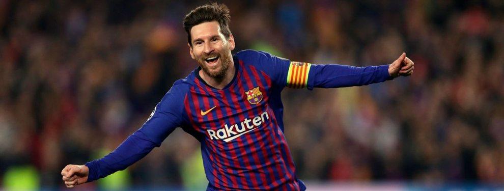 Leo Messi ha solicitado la incorporación de Lautaro Martínez para el ataque del Barça
