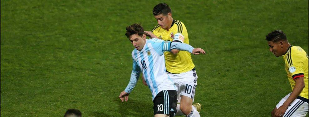 James Rodríguez justificó la eliminación de Colombia y aprovechó para lanzar un dardo a Leo Messi