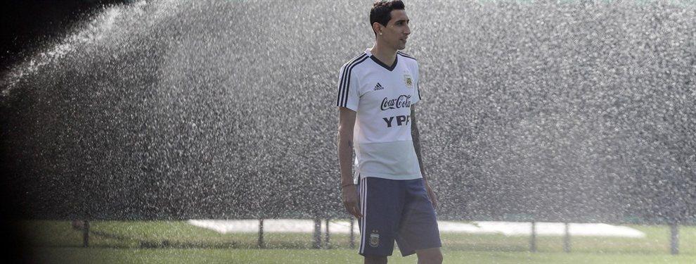 Lionel Scaloni podría incluir a Ángel Di María en la formación titular de Argentina para jugar con Brasil.