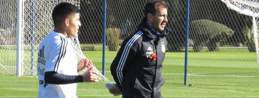 La Selección Argentina Sub 23 comenzó los entrenamientos de cara a los Juegos Panamericanos.