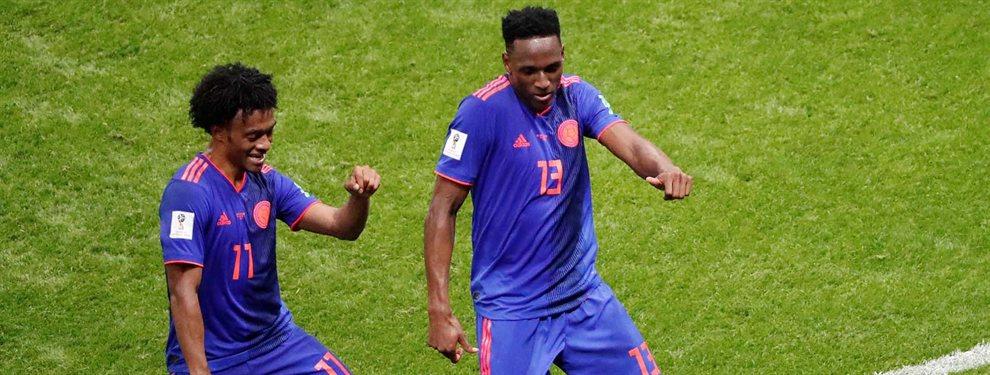 Juan Cuadrado le ha dicho a Yerry Mina que saldrá de la Juventus de Turín y tiene ofertas de la Premier