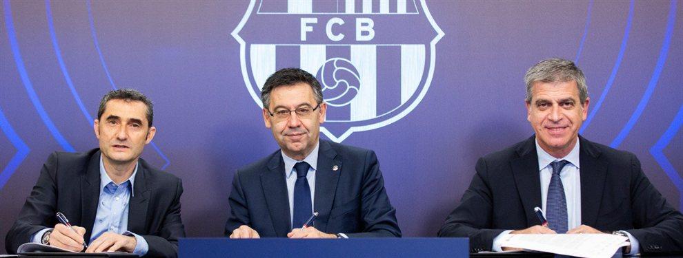 Bartomeu posee dos ases en la manga para poder fichar a Neymar y Griezmann y juntar a los 'cuatro fantásticos'