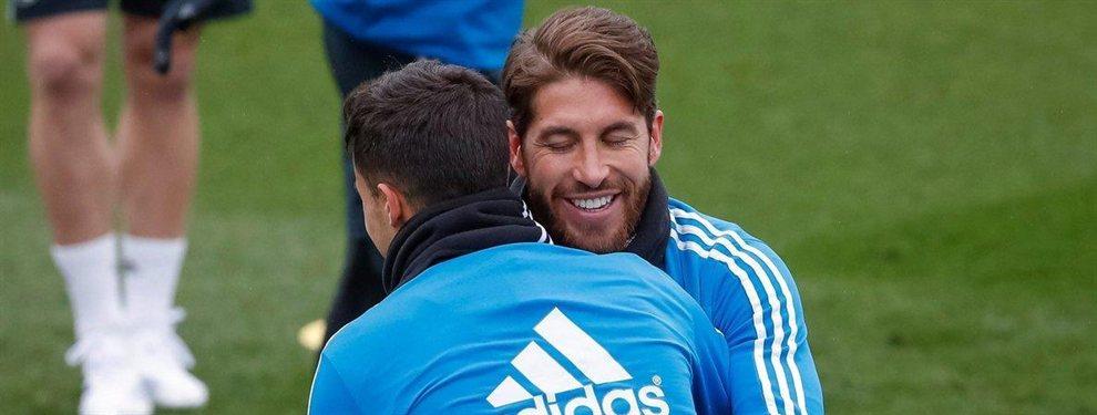 Sergio Ramos no da crédito a la última rajada de Toni Kroos, que ha lanzado una indirecta a la afición