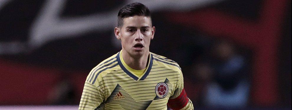 El Barça tratará de pagar el fichaje de James Rodríguez e incluirle en la operación Griezmann