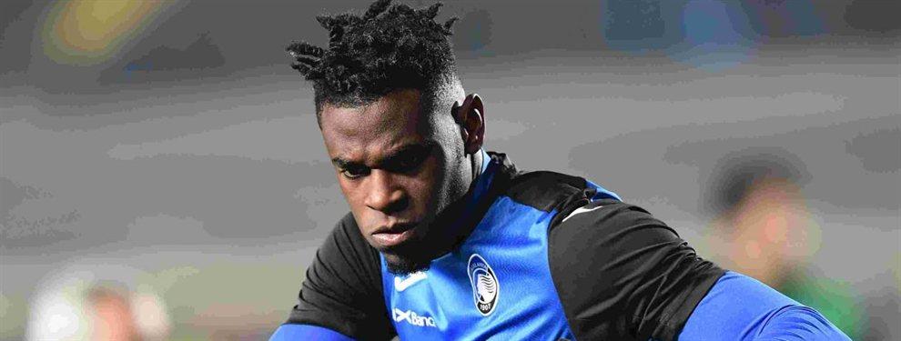 Duván Zapata tiene una oferta del Valencia para dejar el Atalanta este verano, pero no es la única