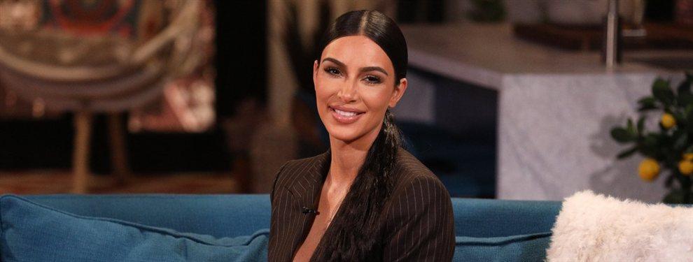 Kim Kardashian publicó una fotografía en la que utilizaba en exceso el Photoshop