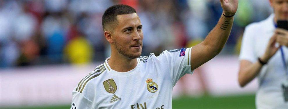 Eden Hazard rechazó ofertas muy suculentas para poder aterrizar en el Real Madrid