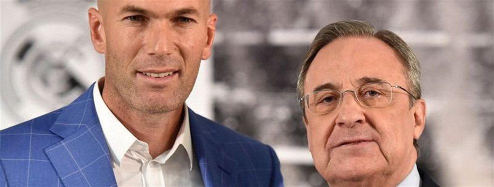 Zidane y Florentino Pérez cuentan con una perla que no te esperas