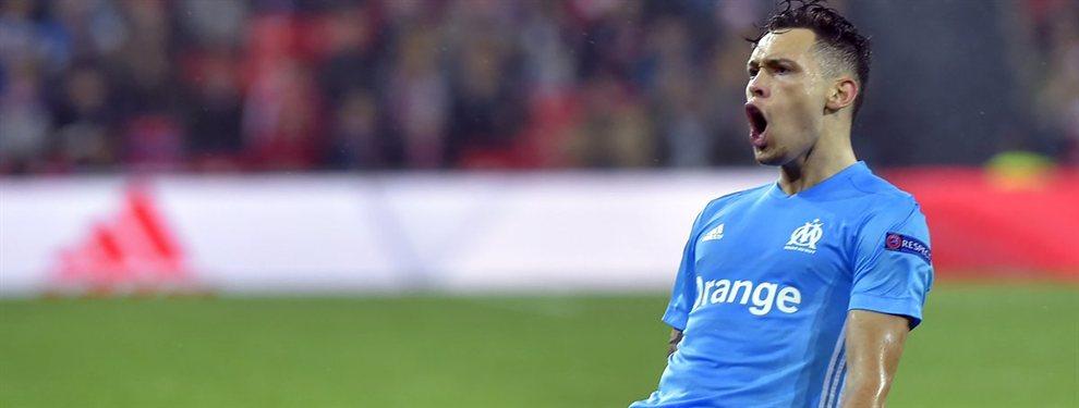 El Olympique de Marsella vendió a Lucas Ocampos al Sevilla y recibió dinero para avanzar por Darío Benedetto.