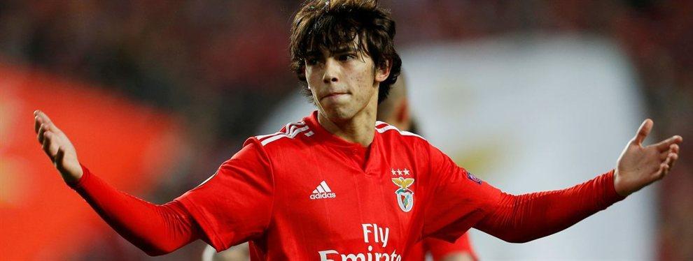El Atlético de Madrid anunció la contratación de Joao Félix a cambio de 127 millones de euros.