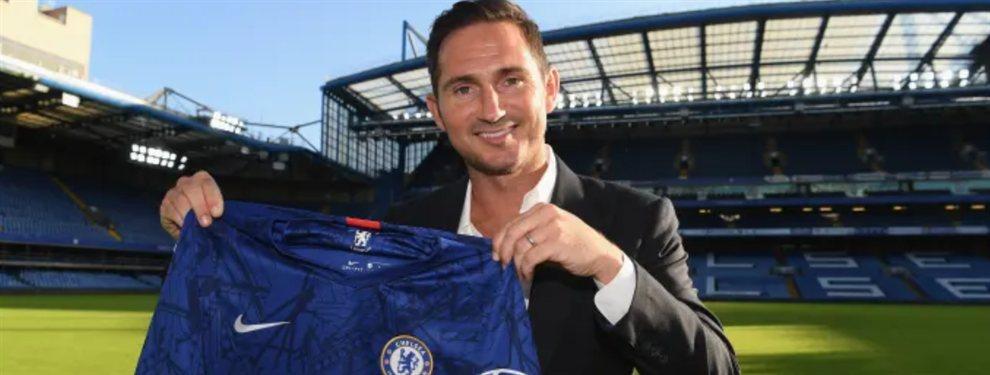 Frank Lampard fue presentado como nuevo entrenador del Chelsea en sustitución de Maurizio Sarri.