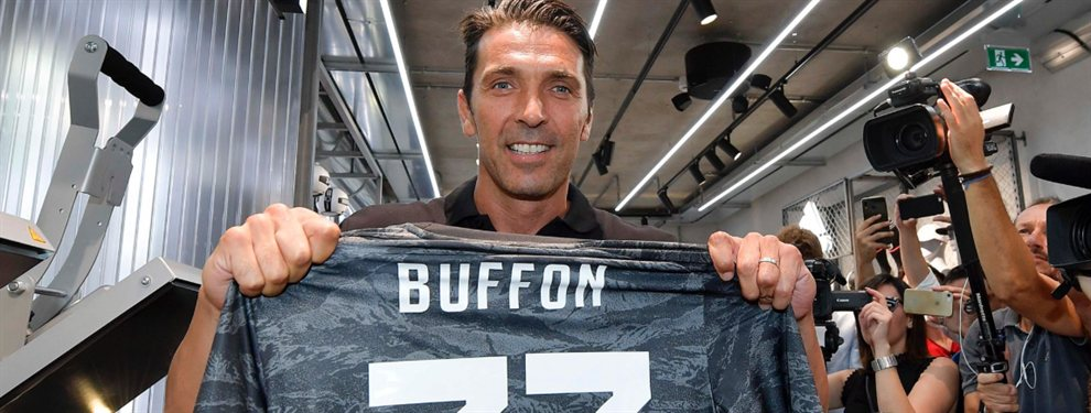 La Juventus presentó a Gianluigi Buffón, quien explicó por qué no utilizará el número 1 en la espalda.