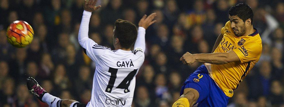 El Barça ya sabe que Maxi Gómez, que gustaba para ser suplente de Luis Suárez, acabará en el Valencia