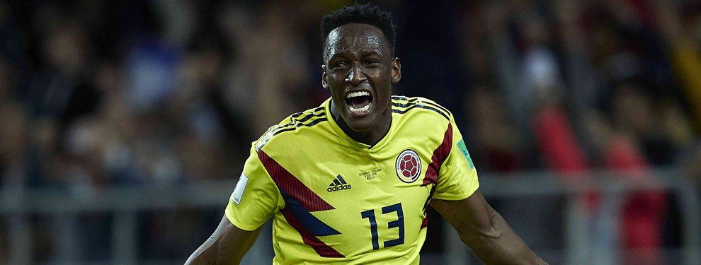 Betis, Villarreal y Getafe quieren traer de vuelta a España a Yerry Mina, que ha cuajado una gran Copa América