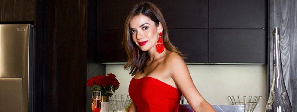 La actriz y modelo colombiana se ha hecho una liposucción para eliminar los kilos de más.