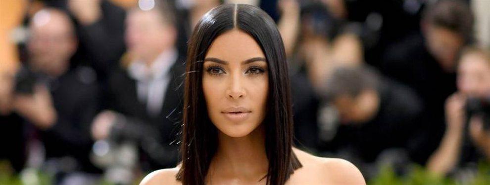 Kim Kardashian volvió a ocupar portadas con su última fotografía, con un vestido de escándalo