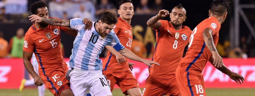 La Selección Argentina se enfrentará con su par de Chile en el partido por el tercer y cuarto puesto de la Copa América.