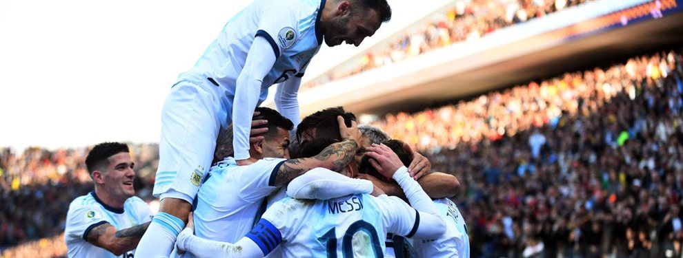 En un partido polémico, la Selección Argentina venció a su par de Chile y obtuvo el tercer puesto de la Copa América.