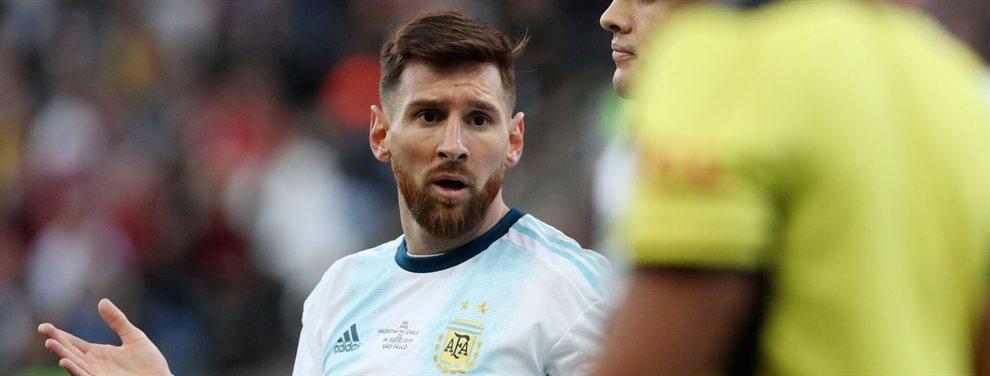 Si en definitiva lo del francés se cae, Messi pedirá que los 120 millones de euros que querían gastarse en el campeón del mundo vayan para su fichaje.
