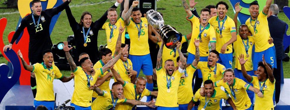 Con una nueva polémica, Brasil venció 3-1 a Perú y se consagró campeón de la Copa América