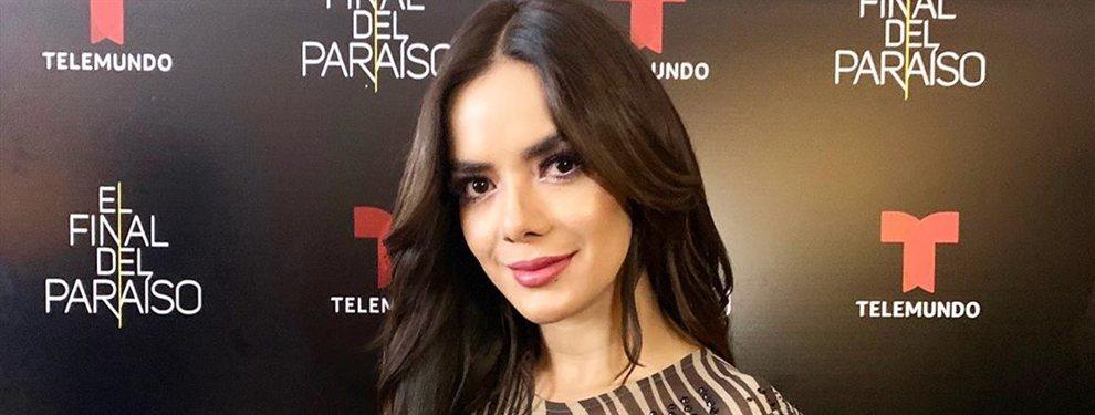 Elianis Garrido se atreve con todo, incluso sin pintura en su cara y sin los estilismos propios de pasaralelas y focos a los que está acostumbrada.