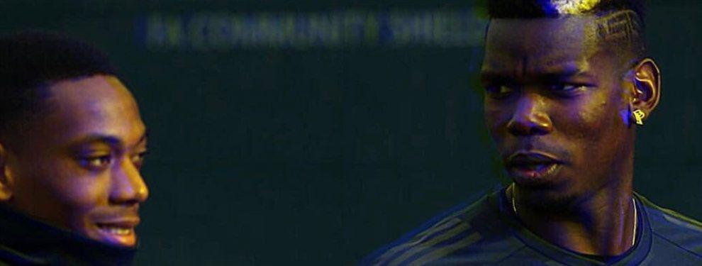 Florentino Pérez jugará otra baza con el Manchester United para tratar de desbloquear el fichaje de Paul Pogba, hoy en punto muerto