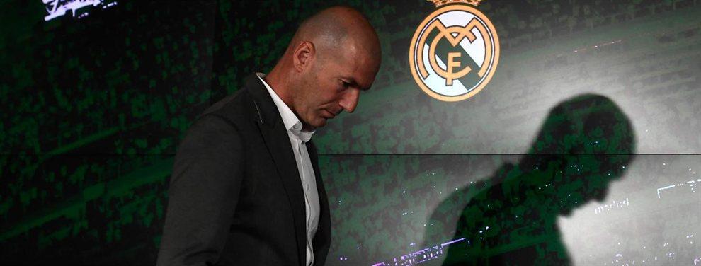 Zinedine Zidane ha dado 10 nombre propios para salir del Real Madrid, como Ceballos, James Rodríguez, Bale, Keylor Navas...