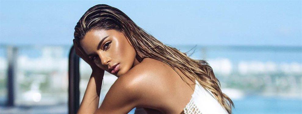 Ariadna Gutiérrez, la fallida Miss Universo de hace algunos años, pero que ha sabido sacar jugo y rentabilidad a ese no nombramiento.