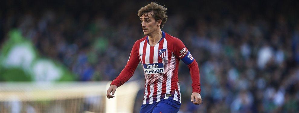 El Atlético de Madrid no negociará por Antoine Griezmann. O pagan la cláusula, o el Barça se va de vacío.