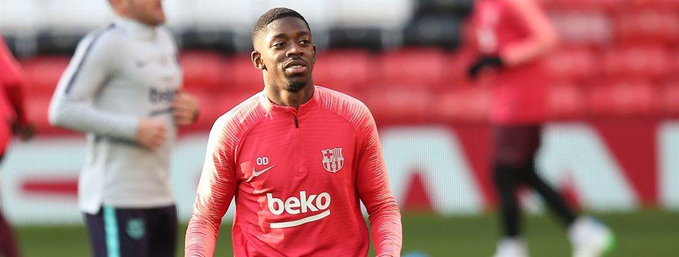 El Barça ha recibido una oferta de unos 100 millones de euros por Ousmane Dembélé