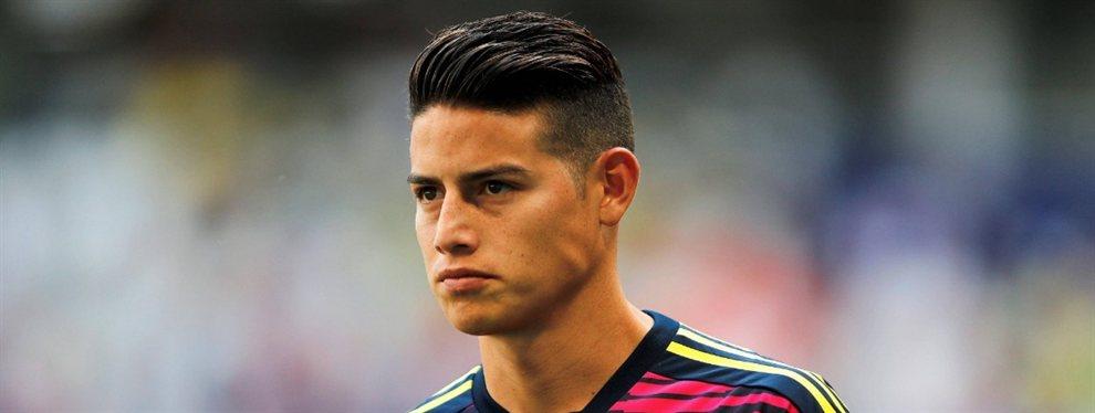 El Napoli ha dejado aparcada la opción de James Rodríguez y podría ir a por Rodrigo Moreno