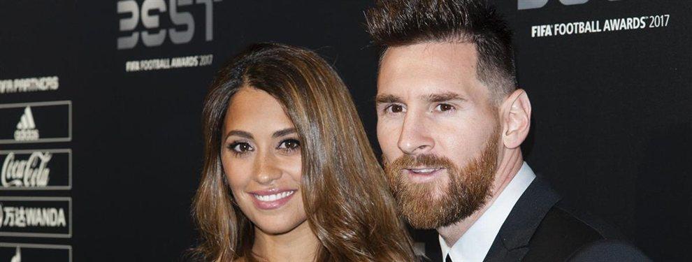 Antonella Roccuzzo y Leo Messi fueron vistos en un centro comercial de Rosario, y muchos pararon a hacerse fotos con ellos