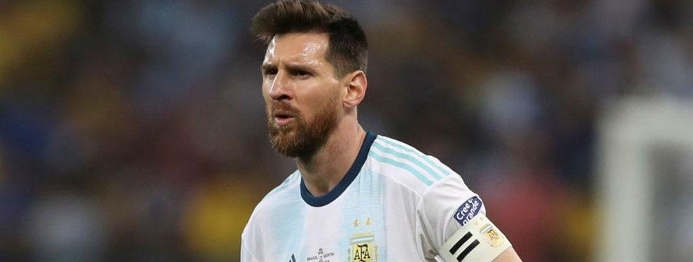 La Conmebol analiza imponerle una doble sanción a Lionel Messi por sus declaraciones.