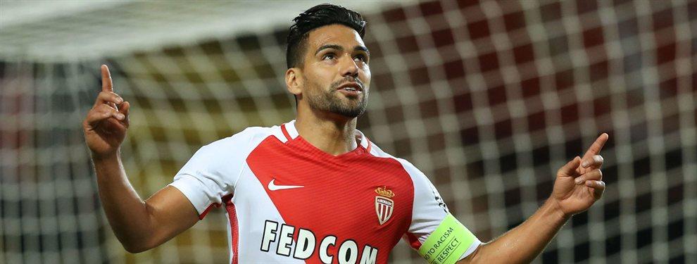 Radamel Falcao no aterrizará en el Valencia, que se ha decantado por Maxi Gómez y tendrá que buscar otras opciones