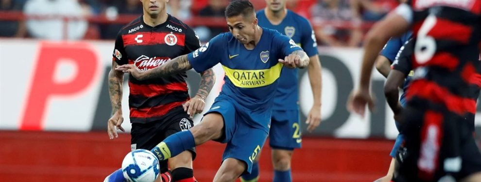La Roma desea contratar a un mediocampista y fijó su atención en Agustín Almendra, de Boca.