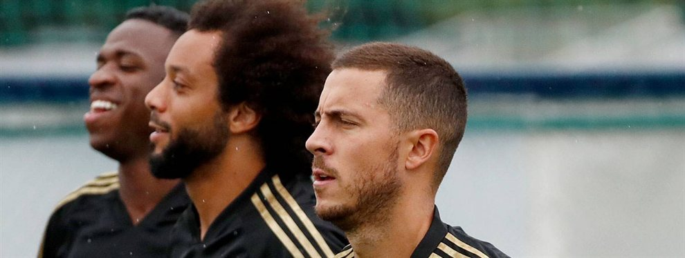 Eden Hazard se ha reincorporado a los entrenamientos del Real Madrid bastante pasado de peso