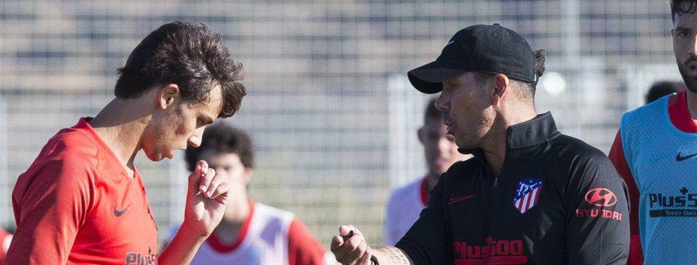 El 'Cholo' Simeone se lanza a por un jugador del Real Madrid que no está contento con Zinedine Zidane y que encaja en la filosofía del argentino