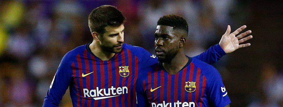El jugador que saldría se encuentra entre Samuel Umtiti y Clément Lenglet, quienes podrían entrar en la operación Neymar.