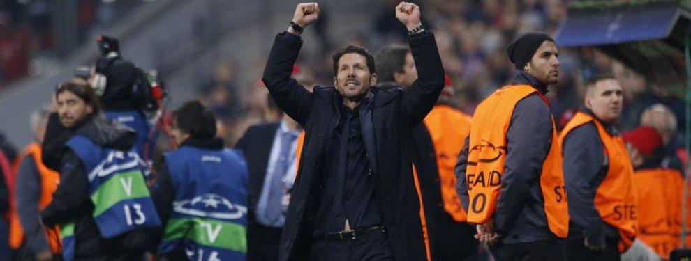 El Atlético de Madrid de Diego Simeone recaudó una increíble suma en lo que va del mercado de pases.