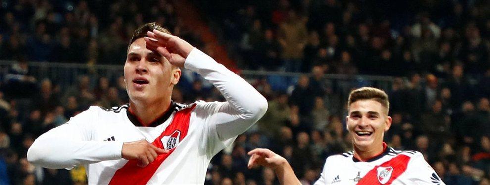Juan Quintero se lesionó de gravedad hace ya cuatro meses y parece que tendría fecha para volver a vestirse de corto según informó River Plate.