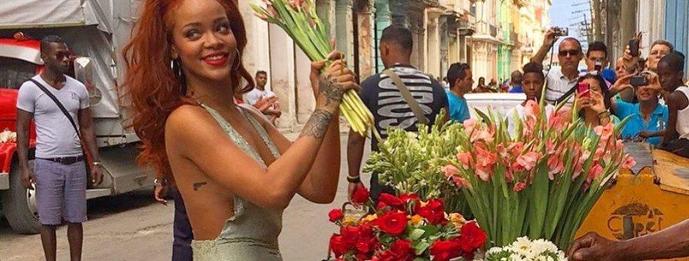 Rihanna, la reina de Bridgetown, regresa irresistible en topless en la arena blanca de la playas de Brasil y sonriente celebrando el verano en Barbados