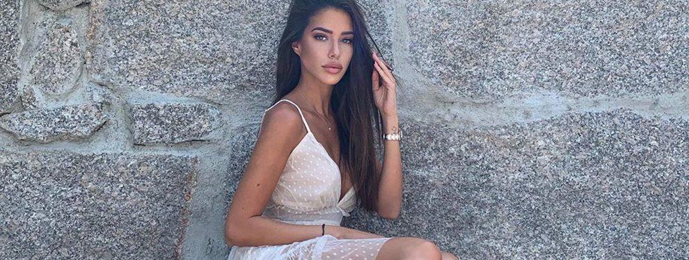 Tenemos confirmación absoluta: Nadia Avilés, novia del ex del Barça Denis Suárez, pasa al Olimpo de diosas de este verano con lencería blanca