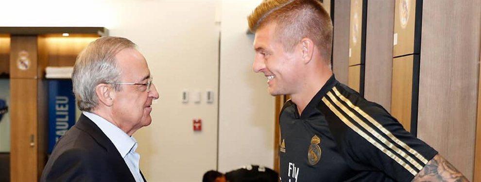 Florentino Pérez tiene ya a su centrocampista para completar la plantilla de esta temporada y supone la salida de una estrella del equipo