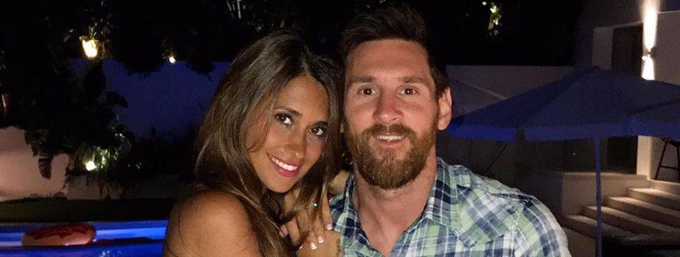 Antonella Roccuzzo y Leo Messi están en Antigua y Barbuda y han compartido una foto