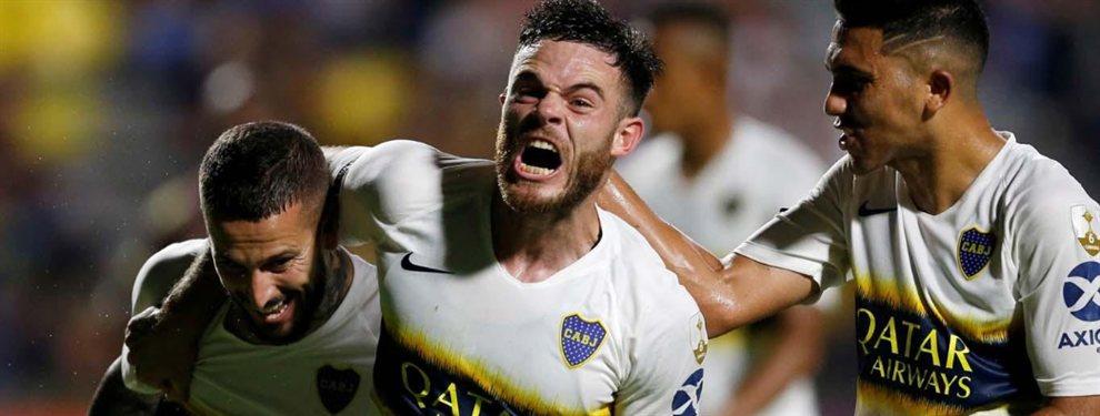 Boca rechazó la primera oferta formal del Cagliari de 15 millones de euros por el 70% del pase de Nahitan Nández.