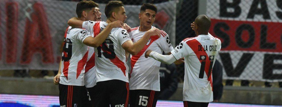 Luego de igualar 1 a 1, River venció 5-4 en la definición por penales a Gimnasia de Mendoza.