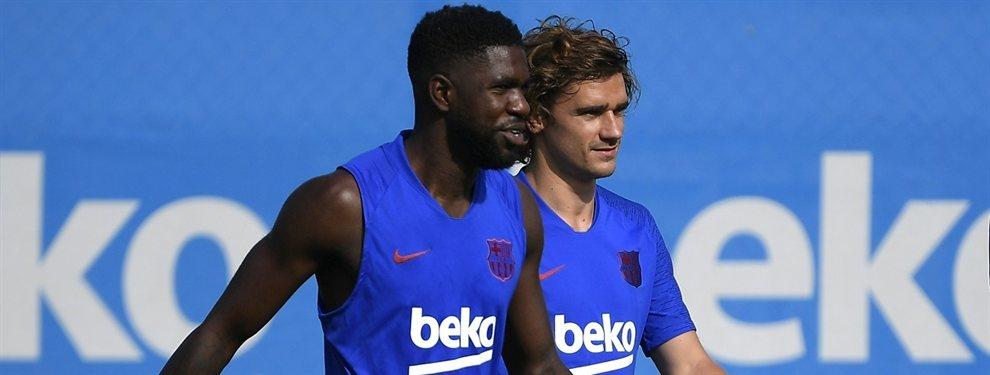 Samuel Umtiti ahora recula y seguirá en el Barça, desupés de que su gran pretendiente, el PSG, firmara a Abdou Diallo