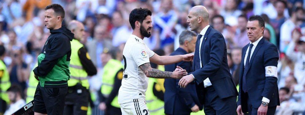 Llega una traición a Zinedine Zidane: un jugador se sale con la suya, firma por un rival y complica la planificación del míster para la presente temporada
