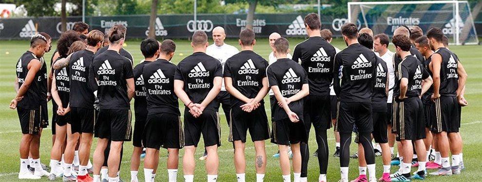 Viene un palo casi definitivo para las aspiraciones de Florentino Pérez y Zinedine Zidane: se les rompen los esquemas de la planificación de la plantilla